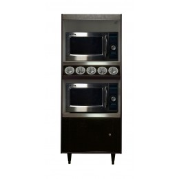 All State AS272-5-MT Condiment Stand Lighted