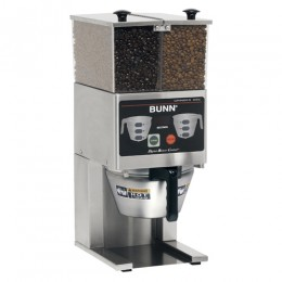 Bunn FPG-2 DBC French Press Coffee Grinder - 6 lb. Double Hopper