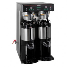 Bunn 37600.0011 ICB-TWIN Tall Dual Infusion Series Coffee Brewer with Side Faucet 120/240V