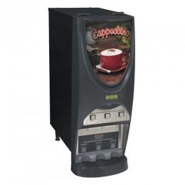 Bunn iMIX-3S BLK Powdered Cappuccino Dispenser 3 Hoppers - 120V