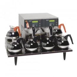 Bunn Axiom 0/6 Twin 12 Cup Automatic Coffee Brewer 6 Lower Warmers