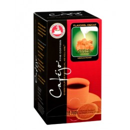 Cafejo Caramel Creme Decaf Single Pods 216/CS