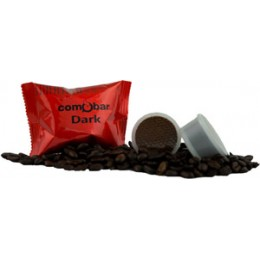 Comobar Dark 36mm Espresso Capsules, 100/CS