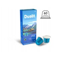 Dualit and Nespresso Compatible 15888 Decaf Aluminum Capsules 100 Pack