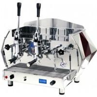 La Pavoni DIA 2L-R 2-Group Diamante Lever Espresso Coffee Machine, Ruby Red, 14L Boiler