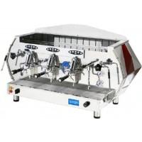 La Pavoni DIA 3V-R Diamante Volumetric Espresso Coffee Machine, Ruby Red, 22.5L Boiler
