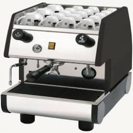 European Gift PUB1M-B La Pavoni 1 Group, Manual, Black Espresso Machine