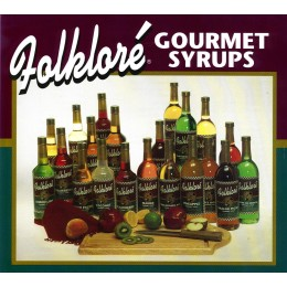 Folklore Gourmet Syrups 750ml 12/CS Additional Flavors