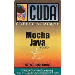 Cuda Coffee Mocha Java Blend 1lb