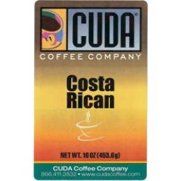 Cuda Coffee Costa Rican 1lb