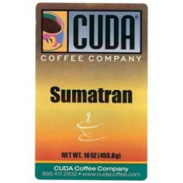 Cuda Coffee Sumatran 1lb