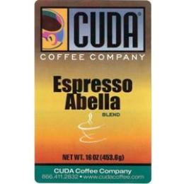 Cuda Coffee Espresso Abella 1lb
