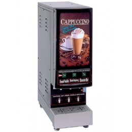 Cecilware 3K-GB-LD Budget 3K Three Flavor Hot Cappuccino Dispenser