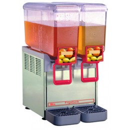 Cecilware 8/2 Arctic Compact Cold Beverage Dispenser 2 Bowl