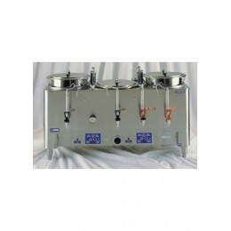 Grindmaster 8303E Triple 3 Gallon Coffee Machine Urn 120/208V