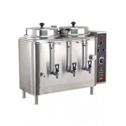 Cecilware FE100N-3 Twin 3 Gallon Coffee Urn, 120/240V or 120/208V, 3Ph