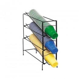 Dispense-Rite Cup Dispenser Vertical 3 Section