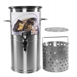 Newco 805166 Cold Brew Coffee 3 Gal Round Kit