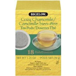 Bigelow Cozy Chamomile Tea Pods 108/CS