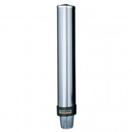 Stainless Steel Beverage Cup Universal Dispenser 6 to 12 oz.