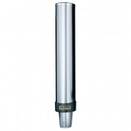 Stainless Steel Beverage Cup Universal Dispenser 12 to 24 oz.