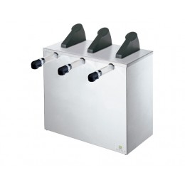 Server Express Triple Condiment Dispenser