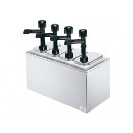 Sever 79830 Serving Bar w/ Solution Pumps