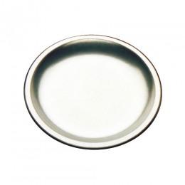 Tomlinson 1006362 Deep Dish Dinner Platter 10.25in Frosty Finish 12/CS