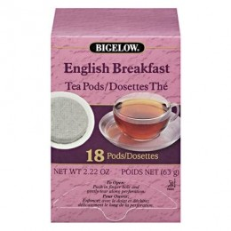 Bigelow 09906 English Breakfast Pods 108/CS