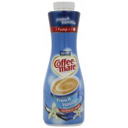 Coffee Mate French Vanilla Liquid Creamer Pump Bottle 625ml-3Bottles
