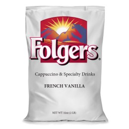 Folgers 7046110144 Cappuccino Frothy Topping 6/1 lb Bags