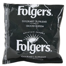 Folgers Gourmet Supreme Regular Singles, 1.75 oz Each, 42 Units Total