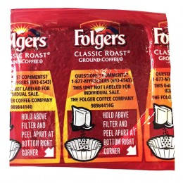 Folgers Classic Roast Vacket, .9 oz Each, 42 Vackets Total