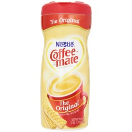 Coffee Mate Non Dairy Powder Original Canister, 22 oz ea. 12 Total