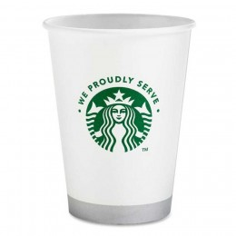 Starbucks 11033279 We Proudly Serve 12 oz Hot Cups, 1000 Cups Total