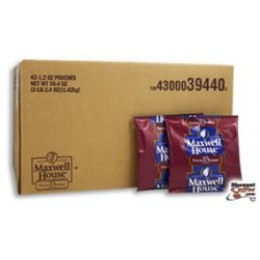 Maxwell House French Roasted Single Serve Packets, 1.2oz Each, 42 Total