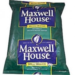 Maxwell House Special Delivery Decaf Filter Pack, 1.3oz Each, 42 Total