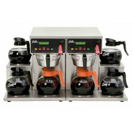 Decanter Brewer - Automatic 6 Station, 6 Lower Warmers, Dual Voltage